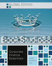 Essentials of Corporate Finance 7E + Connect Plus Ross Jordan 7th Edition NEW