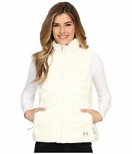 Under Armour Women's XL UA ColdGear Infrared Uptown VEST Jacket White 1246816
