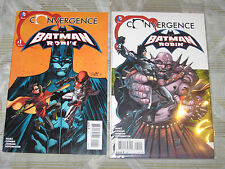 CONVERGENCE BATMAN AND ROBIN #1 & 2 SET! DC NEW 52 JUSTICE LEAGUE! EXTREMISTS!