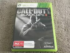 CALL OF DUTY BLACK OPS II (2) ~ microsoft XBOX 360 game ~ AUS SELLER