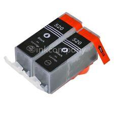 2 für CANON Patronen mit Chip Druckerpatronen PGI-520 MP 540 MP 550 MP 620 NEU