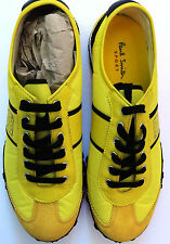 Paul Smith Bullseye Sport Zapatillas Sneakers Amarillo SIZE UK 9 Nuevo Rareza