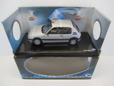 1:18 PEUGEOT 205 GTI 1900 1990 Silver metallic SOLIDO 8153 Factory Sealed