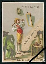 French Vintage Advertising Trade Card: Old Antique Cadet Roussel France Chromo