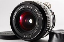 【EXC+++】 Nikon Ai-s Nikkor 20mm f/3.5 Wide Angle Lens from Japan #221555