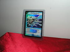 DUEL MASTERS DM-04 SHADOWCLASH OF BLINDING NIGHT AQUAKAMUI CARD SUPER RARE NEW