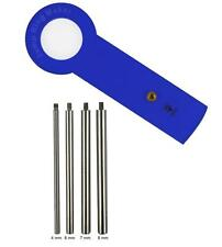 Jump Ring Maker Kit - 4 mm, 6 mm, 7 mm, 8 mm Jewelry Tool