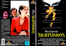 "VHS - "" Wes Craven's Night VISIONS "" (1990) - James Remar"