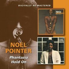 Noel Pointer Phantazia/Hold On 2-CD NEW SEALED Digitally Remastered Jazz