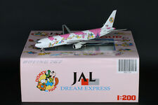 "JAL Japan Airlines B767-300 ""Disney Pink"" Reg:JA8397 JC Wings 1:200      XX2412"