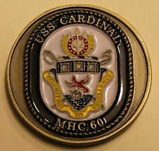 USS Cardinal (MHC-60) Navy Challenge Coin
