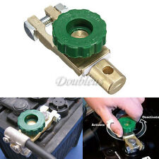 CAR BOAT BATTERY MASTER TERMINAL DISCONNECT QUICK CUT OFF ISOLATOR KILL SWITCH