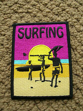 endless summer surfing surfer longboard surfboard jacket patch 1960s movie cool