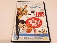 IT HAPPENED AT THE WORLD'S FAIR DVD - ELVIS - 1962 - UK RELEASE - FREE POST