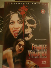 Female Vampire (DVD, 2012) Widescreen Edition - Sexploitation Erotic Film 18+