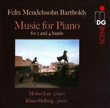 Mendelssohn: Music for Piano for 2 and 4 Hands, New Music