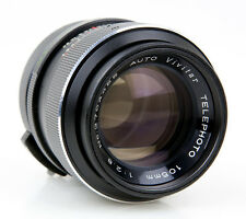 M42 vivitar telephoto auto 2,8/105 mm MINT Lens top BOKEH l-077
