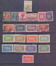 GERMANY - 20 VERY OLD STAMPS - MIN OF USED/MH - B 513