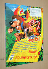 Club Nintendo Games Magazin Ausgabe August 1998  Banjo-Kazooie