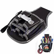 9in1 Electrician Waist Pocket Belt Tool Pouch Bag Screwdriver Utility Kit Holder