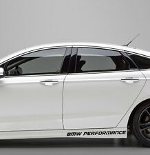 Aufkleber Sport BMW Performance M Schweller 50cm JDM M3 M5 M6 M1 X Mind Logo 2x