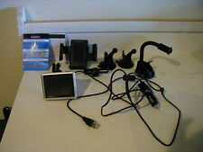 Garmin Nuvi 1200 With Cords Plus Lot of 5 GPS Holders and Mounts. WORKS GREAT!