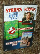 BILL MURRAY BOX SET NEW & SEALED, 3 FILMS: STRIPES,GHOSTBUSTERS, GROUNDHOG DAY