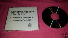 CHRISTINA AGUILERA - I TURN TO YOU (RARE 2 TRK PROMO CD)