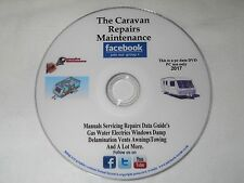 CARAVAN.MAINTENANCE MANUALS SPARES,DAMP,RESTORATION,FRIDGE,AWNING,DELAMINATION