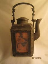 RARE ASIAN ANTIQUE JAPANESE CAST IRON TEAPOT/ TEA KETTLE