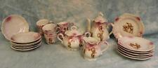 Antique Kewpie Doll Tea Set Rose O'Neill Wilson,Complete Set,Cute action Kewpies