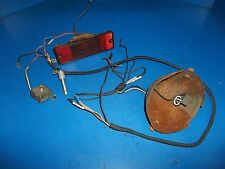 CHRYSLER SNO RUNNER ( VINTAGE )WIRE HARNESS/TAILLIGHT/REGULATOR/HEADLIGHT BEZEL