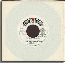 "The Scott McGill Band - I Hear You Knockin + Hello Josephine - 1978, 7"" 45 RPM!"