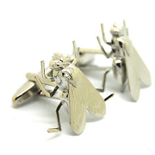 Unique Fly Designer Cuff Links Cufflinks