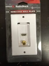 (50 pc) RadioShack HDMI TV Decorator Wall Plate Cover Jack 1080P HD Coaxial lot