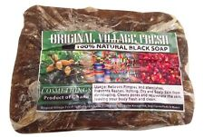 100% Natural Original Raw BLACK SOAP Organic Unrefined From GHANA Africa 15 oz