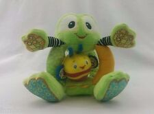 TOYS: Bright Starts Frog with Bumble Bee Plush Rattle Crinkle Hands & Feet GUC