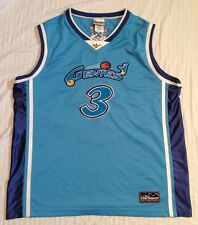 Vintage Disney World Aladdin Genie Genies #3 Basketball Jersey Robin Williams