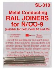 PECO SL-310 Fishplates x 24 (Track Joiners) 'N' Gauge Code 80 &55 Track 1st Post