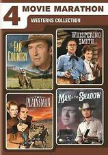 4 Movie Marathon: Westerns Collection (The Far Country / Whispering Smith / The