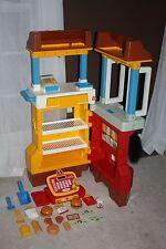 Vintage 1989 Fisher Price McDonald's Child Size Drive Through Restaurant Kitchen