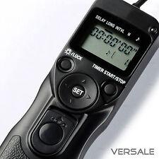 Timer Fernbedienung für Canon EOS 450D 400D 350D 300D 100D 70D 60D 30V Auslöser