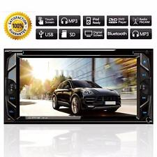 6.2'' 2DIN HD Autoradio Stereo DVD Bluetooth FM MP4 MP5 In Dash AUX Touch Screen