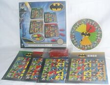 NEW BOXED BATMAN vs VILLAINS 2-4 PLAYER CHILDREN'S FAMILY BOARD GAME BINGO