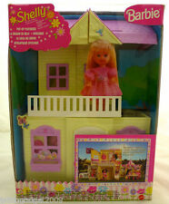 Barbie Shelly Pop Up Playhouse Mattel 1999 22037 Made In Italy Rare New & Sealed