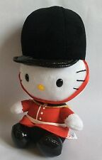 HELLO KITTY – TY/ SANRIO - 3 x LONDON CHARACTERS – SOFT PLUSH TOYS