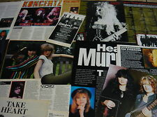 HEART - MAGAZINE CUTTINGS COLLECTION (REF 3)