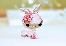 Swarovski Lovlots Chinese Zodiac Mimi the Rabbit Pink 5004522 Brand New In Box