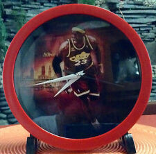 LEBRON JAMES Memorabilia Collectors' Wall Clock
