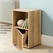 Stylish Turin  2 Cube Shelves With 1 Door and 1 Open Cube
